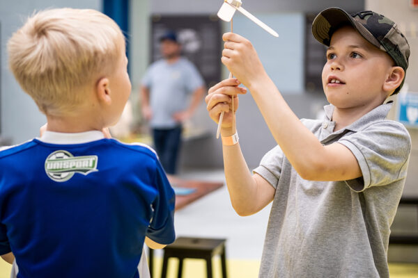 Museets MAKERSPACE for hele familien